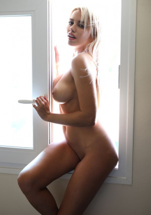 Margot sexy, naked, blonde babe