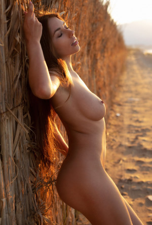 Niemira naked, babe, outdoor