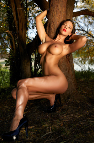 Savannah erotic, naked, outdoor
